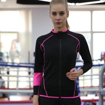 ac PEAPON Long Sleeve Yoga Permeable Jogging Gym Zippers Jacket [10153737228]