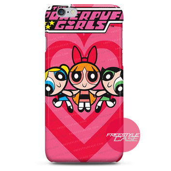 The Powerpuff Girls Pink Logo iPhone Case Cover Series