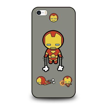 iron man kawaii marvel avengers iphone se case cover  number 1