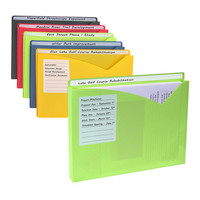 Write-On File Jacket - Set of 10