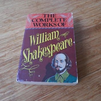 The Complete Works of William Shakespeare Paperback Published 1980
