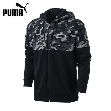 Original PUMA AOP PUMA Rebel FZ Hoody Breathable Jacket for Men Hooded Sportswear Outdoor Sports Leisure Coats Athletics 850757