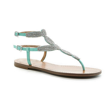 Antonio Melani Bahlie Jeweled Sandals | Dillards