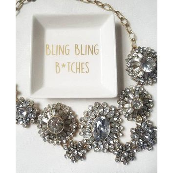 Bling Bling Jewelry Dish