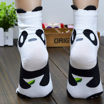 10% OFF (Code: PEPA10) Panda socks, animal funny socks, boots socks, casual soks, womens socks