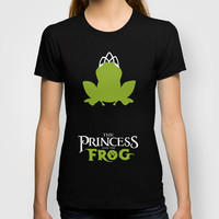 The Princess and the Frog T-shirt by Citron Vert | Society6