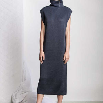 ACLER York Knit Dress in Seaport (Navy Blue)