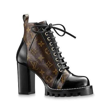 Louis Vuitton Lv Star Trail Ankle Boots