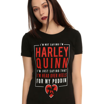 DC Comics Harley Quinn Puddin Girls T-Shirt