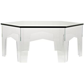 Vena Acrylic Coffee Table