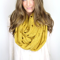 Vintage Distressed Scarf