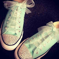 Adult converses by Textstyless on Etsy