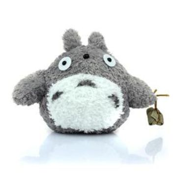 Cute Anime Totoro Design Stuffed Plush Doll Toy - Gray (HG146804)