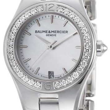 Baume and Mercier Linea Stainless Steel Watch MOA10013