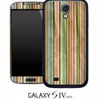 Vintage Vertical Striped Skin for the Samsung Galaxy S4, S3, S2, Galaxy Note 1 or 2