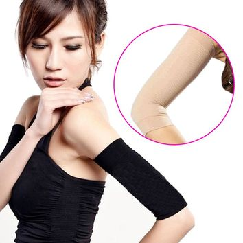 Slimming Arm Shaper Massager Sleeve 2Pcs Weight Loss Calories off Slim