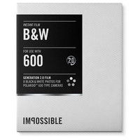 Instant Film for Polaroid 600 Cameras - Black & White 2.0