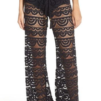 PilyQ 'Malibu' Lace Cover-Up Pants | Nordstrom