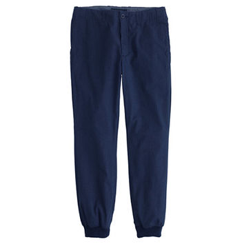 J.Crew Mens Jogger Pant In Mélange Cotton