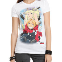 Full Metal Alchemist Trio Girls T-Shirt