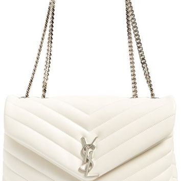 Saint Laurent Medium Monogram Leather Shoulder Bag | Nordstrom
