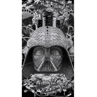 Star Wars B&W Beach Towel