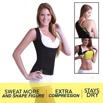 1 BOX  Redu Shaper Shirt Woman Neoprene Slimming Thermo Redu Shaper Cami Hot Slimming Shaper   Packing: Color Box