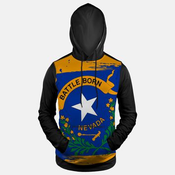 Nevada State Flag Hoodie (Ships in 2 Weeks)