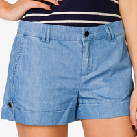 Essential Chambray Shorts