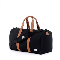New Herschel Ravine Poly Black Duffle Bag