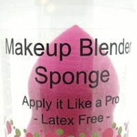 Makeup Blender Sponge - Pink - For Applying and Blending Beauty Products