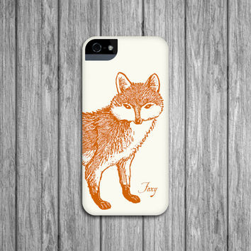 Woodland Fox iPhone Case - Foxy iPhone 5 Case, iPhone 4, Samsung Galaxy S3, S4