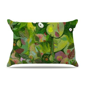 "Marianna Tankelevich ""Jungle"" Pillow Case"