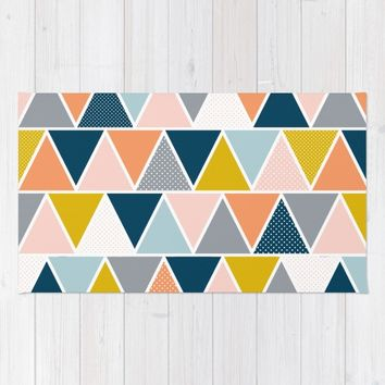 Triangulum Retreat Rug by Heather Dutton