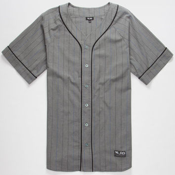 Lrg Baseball Jersey Charcoal  In Sizes