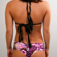 Hanu Hawaii Mahina Bottom Purple Cheetah