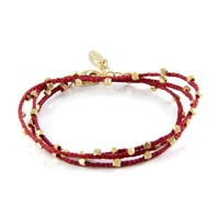 Lasso My Wrist in Red Wrap Bracelet