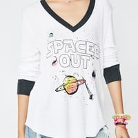 Spaced Out Leroy V Neck Tee