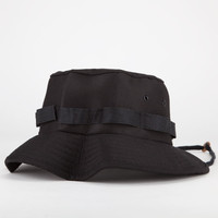 Rothco Jungle Mens Bucket Hat Black  In Sizes