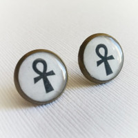 Ankh Earrings - Ankh Earring