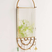 Hanging Rectangle Mirror Jewelry Storage - Urban Outfitters