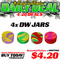 DAILY DEAL 04/20/2015 - 4x Dab Wizard Jars