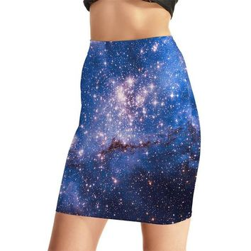 Family Friends party Board game Europe New Hot Women Sexy High Waist Skirts Tennis Bowling Skirts Slim Blue Sky Elastic Female Girls Party Apparel S-4XL AT_41_3