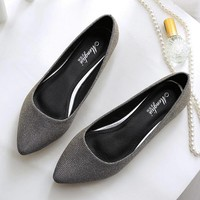 Lining Leather Flats