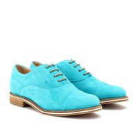 tod's - tod's no_code suede brogues