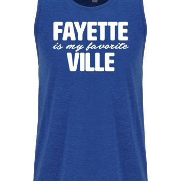 Fayette Is My Favorite Ville Tank