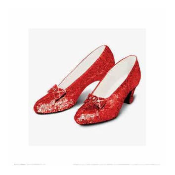 The Wizard of Oz - Ruby Slippers