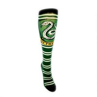 Slytherin Striped Knee-High Socks |