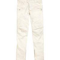 Coated Biker Jeans - from H&M