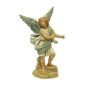 "Exclusive Fontanini 5"" Raphael Angel Signed Nativity Figurine #65288S"